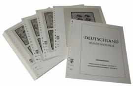 Lindner Inhouden / T-Voordruk albumbladen met folie voorbladen met stroken (Inhoud) Vellen van 10; 1996 (42 bladen) (Lindner 120BK-96)