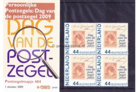 Nederland NVPH M404 (PZM404) Postfris Postzegelmapje Persoonlijke Postzegels: Dag van de postzegel 2009