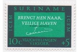 NVPH 436 Postfris (10 + 5 cent) Vluchtelingenhulp 1966