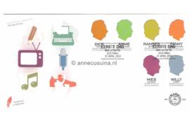 Nederland NVPH E605 Onbeschreven Helden van vroeger en nu 2010