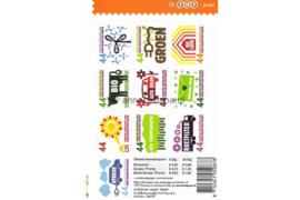 Nederland NVPH V2550-2559 Postfris Velletje 10 voor Nederland Denk groen doe groen (1e druk) 2008