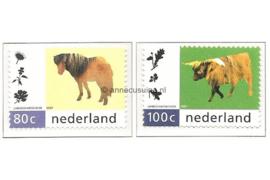 NVPH 1711-1712 Postfris Natuur en Milieu 1997
