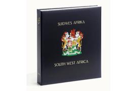 DAVO Luxe band postzegelalbum Zuid-West Afrika / Namibië (zonder nummer) INCL. LUXE CASSETTE
