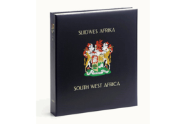 DAVO Luxe postzegelalbum Zuid West Afrika / Namibie I 1897-1990 INCL. LUXE CASSETTE