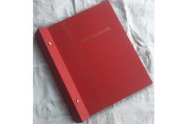 Gebruikt (Z.G.A.N!) Importa Luxe FDC Nederland album Rood PS II