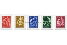 NVPH 779-783 Postfris Kinderzegels 1962, vrije tijd