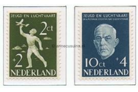 Nederland NVPH 647-648 Postfris Nationaal Luchtvaartfonds 1954