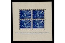 Nederland NVPH V403 (voorheen 403B) Postfris Velletje Legioenzegels met 4 zegels van 12 1/2 + 87 1/2 cent 1942