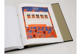 DAVO Luxe bladen Nederland EK postzegels 08 (eerste 4 velletjes) (2008)