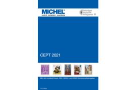 MICHEL Europa CEPT 2021 Mit EuroMed-Postal-, SEPAC- und UPAEP-Gemeinschaftsausgaben (ISBN 9783954023233)