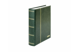 Lindner Insteekalbum Elegant (Luxe) Witte bladen/Groene kaft (Lindner 1162S-G)