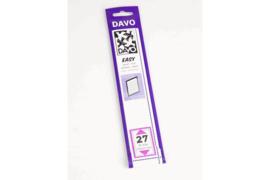 DAVO Easy stroken zwart Z27 (215 x 31) 25 stuks
