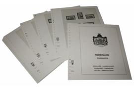 Lindner Inhouden / T-Voordruk albumbladen met folie voorbladen met stroken (Inhoud) Nederland Combinaties 1985-2001 (35 bladen) (Lindner 191Z)