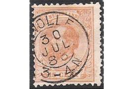 ZWOLLE 30-7-1883 op NVPH 23 FOTOLEVERING