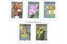 Zonnebloem 12-16 Postfris Orchideeën 1976