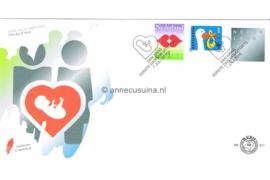 Nederland NVPH E611 Onbeschreven Geboorte/Liefde/Rouw 2010