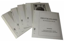 Lindner Inhouden / T-Voordruk albumbladen met folie voorbladen met stroken (Inhoud) Ganzsachen Briefkaarten 1997-2016 (47 bladen) (Lindner 120B-PK)