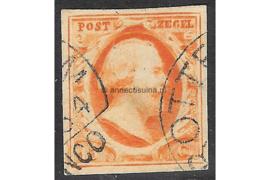 ROTTERDAM Groot C1 (Ey 200) c3 / 1864 op NVPH 3 FOTOLEVERING