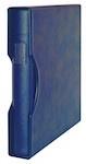 Lindner Ringband Regular met cassette Blauw (Lindner 1124-B)