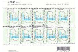 Nederland NVPH VD61 Postfris Velletje COUR INTERNATIONALE DE JUSTICE (1) 2011