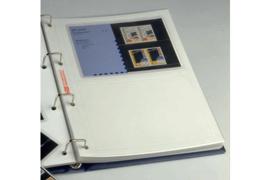 DAVO Mappen PZM (Postzegelmapjes) 2 vaks met wit tussenblad  (PER STUK) (DAVO 29402ps)