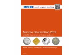 MICHEL Münzen-Katalog Deutschland 2019 (ISBN 978-3-95402-235-9)