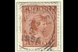 BINDJEI 21-9-1896 op NVPH 23 (SvL 2)