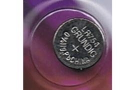 GRUNDIG AG5   393   LR754 / 60 mAh Knoopcel Batterij  (per stuk)