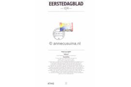 Nederland Importa EDB104 (NVPH 1520) Eerstedagblad Abel Tasman 1992