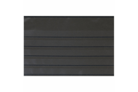 Lindner Insteekkaarten A5 210 x 148 mm zwart (5 stroken) PER STUK (Lindner S871-5PS)