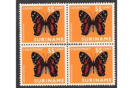 NVPH LP55 Postfris (55 ct) (Blokje van vier) Vlinders 1972