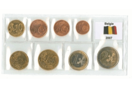 Verpakkingstrip voor een setje Euromunten (per stuk)
