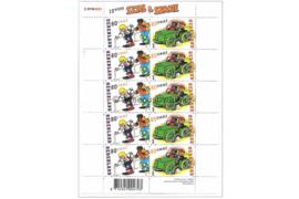 Nederland NVPH V1919-1920 Postfris Velletje Strippostzegels Sjors & Sjmmie 2000