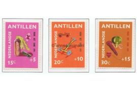 Nederlandse Antillen NVPH 442-444 Postfris Kinderzegels 1971