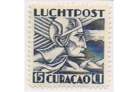 Curaçao NVPH LP5 Postfris (15 cent) Mercuriuskop 1931-1939