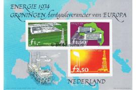 Ansichtkaart Energie 1974 Groningen Aardgasleverancier van Europa