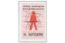 NVPH 566 Gestempeld (30 cent) 50 jaar Volkstelling en Burgelijke Stand 1971