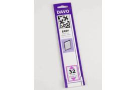 DAVO Easy stroken zwart Z32 (215 x 36) 25 stuks