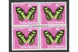 NVPH LP53 Postfris (45 ct) (Blokje van vier) Vlinders 1972