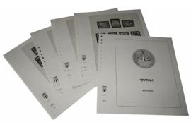 Lindner Inhouden / T-Voordruk albumbladen met folie voorbladen met stroken (Inhoud) Bangladesh 2001-2004 (10 bladen) (Lindner 507-01)