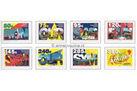 Nederlandse Antillen NVPH 1474-1481 Gestempeld Standaardserie 2003