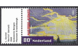 """Nederland NVPH 1974 Postfris (Met Tab) (80 cent) """"Nieuwe Kunst 1890-1910"""" 2001"""