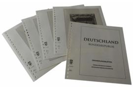Lindner Inhouden / T-Voordruk albumbladen met folie voorbladen met stroken (Inhoud) Herinneringsbladen 2005-2012 (51 bladen) (Lindner 120B-EB-05)