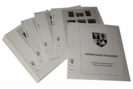 Lindner Inhouden / T-Voordruk albumbladen met folie voorbladen met stroken (Inhoud) Frans Antarctische Gebieden (TAAF) 1955-1997 (46 bladen) (Lindner 440)