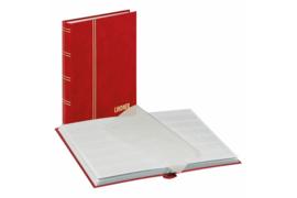 Lindner Insteekalbum Standaard Rode Kaft (Lindner 1159-R)