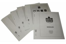 Lindner Inhouden / T-Voordruk albumbladen met folie voorbladen met stroken (Inhoud) Nederland 1972-1979 (26 bladen) (Lindner 191a)
