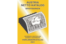 ANK (Vierländer) Austria/Germany/Switzerland/Liechtenstein Netto Katalog Briefmarken Vierländer 2021 (ISBN 978-3-902662-58-3)