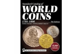 Krause Standard Catalog of World Coins 1701-1800 (18th Century) 7th Edition 2018
