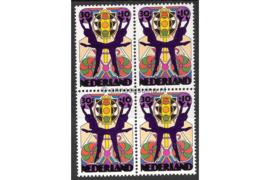 Nederland NVPH 1047 Postfris (30 + 10 cent) (Blokje van vier) Zomerzegels 1974