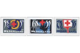 NVPH 1381-1383 Postfris Rode Kruis 1987